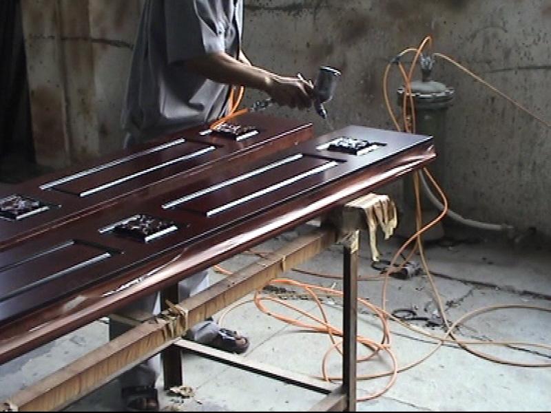 Видео изготовление металлических дверей своими руками